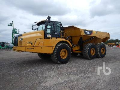 2018 CATERPILLAR 740GC 6x6 Articulated Dump Truck