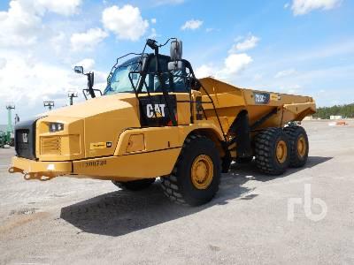 2019 CATERPILLAR 725C2 6x6 Articulated Dump Truck