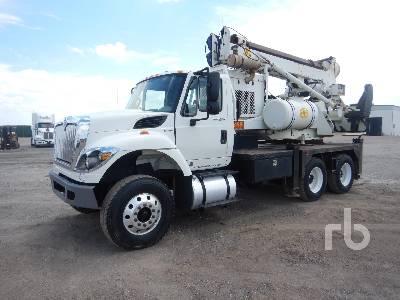 2011 INTERNATIONAL 7500 T/A w/Watson 1100TM Drill Truck