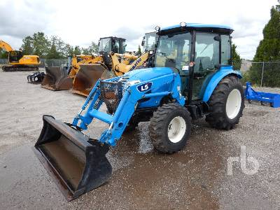 2020 LS MTRON XR4145H 4WD Utility Tractor