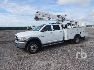 2017 RAM 5500HD Crew Cab 4x4 w/Terex Hi Ranger LT40 Bucket Truck