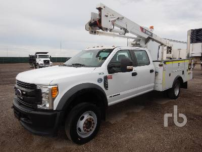 2017 FORD F550 Crew Cab 4x4 w/Terex Hi Ranger LT40 Bucket Truck