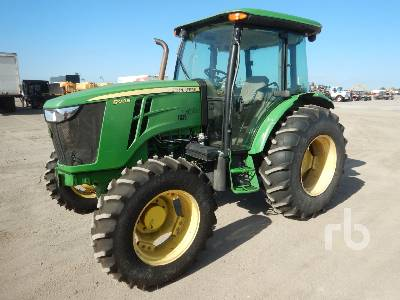 2014 JOHN DEERE 5100E MFWD Tractor