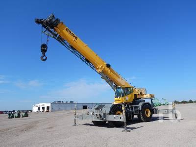 2008 GROVE RT760E 60 Ton 4x4x4 Rough Terrain Crane