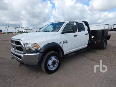 2015 RAM 4500HD Crew Cab Flatbed Truck