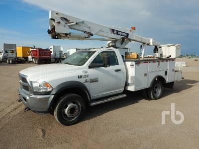 2015 RAM 5500HD 4x4 w/Terex HI-Ranger LT40 Bucket Truck
