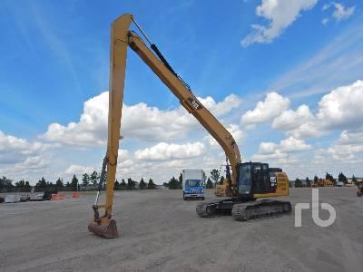 2018 CATERPILLAR 326FL Long Reach Hydraulic Excavator