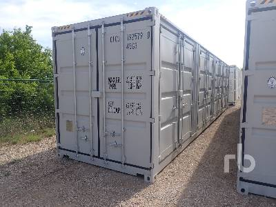 2021 40 Ft High Cube Container Container