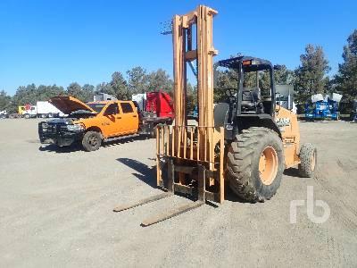 2013 CASE 586H 6000 Lb Rough Terrain Forklift