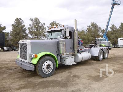 2007 PETERBILT 379 T/A Winch Tractor