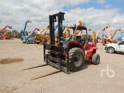 2006 MANITOU M50-2T 10000 Lb Rough Terrain Forklift