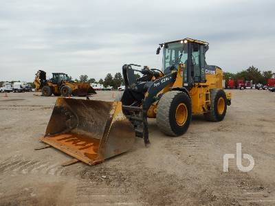 2017 JOHN DEERE 624K Series II Wheel Loader