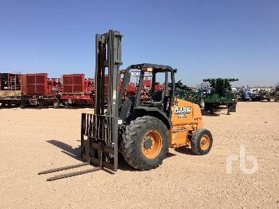 2015 CASE 586H 6000 Lb Rough Terrain Forklift