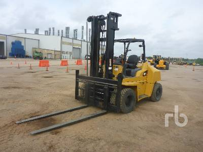 2015 CATERPILLAR DP70N 15500 Lb Forklift