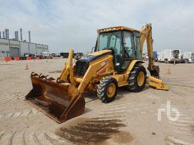 2005 CATERPILLAR 430D 4x4 Loader Backhoe
