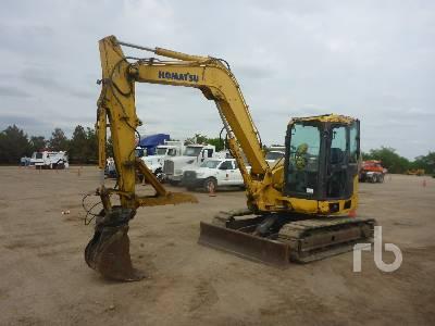 2012 KOMATSU PC88MR-8 Midi Excavator (5 - 9.9 Tons)