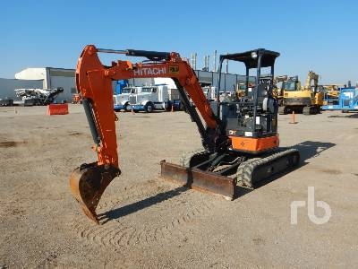 2017 HITACHI ZX35U-5N Mini Excavator (1 - 4.9 Tons)
