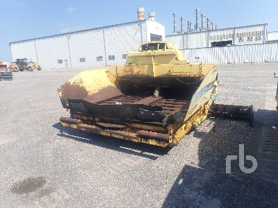 BOMAG 91183500 Crawler Asphalt Paver