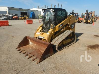 2013 CATERPILLAR 279C 2 Spd High Flow Compact Track Loader