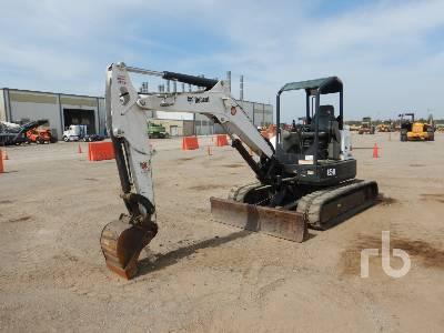 2017 BOBCAT E50 Mini Excavator (1 - 4.9 Tons)