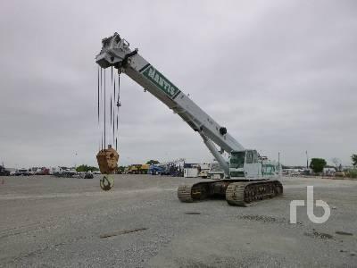 2007 MANTIS 14010 70 Ton Crawler Crane