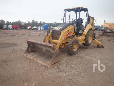 2011 CATERPILLAR 416E 4x4 Loader Backhoe