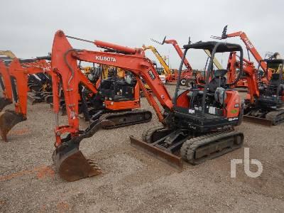 2015 KUBOTA KX71-3S Mini Excavator (1 - 4.9 Tons)