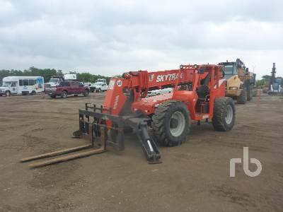 2005 SKYTRAK 10054 10000 Lb 4x4x4 Telescopic Forklift