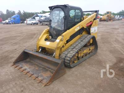 2014 CATERPILLAR 299D 2 Spd Compact Track Loader