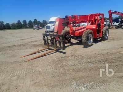 1999 SKYTRAK 8042 8000 Lb 4x4x4 Telescopic Forklift