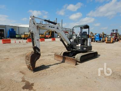 2017 BOBCAT E50 Midi Excavator (5 - 9.9 Tons)