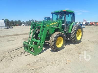JOHN DEERE 6400 MFWD Tractor