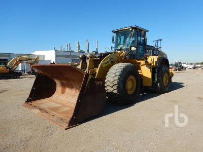 2013 CATERPILLAR 980K Wheel Loader