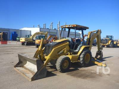 2004 CATERPILLAR 420D Loader Backhoe