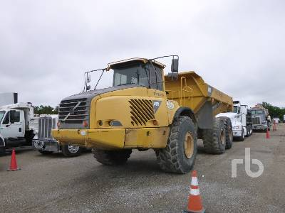 VOLVO A40D 6x6 Articulated Dump Truck