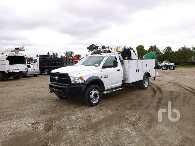 2016 RAM 5500 4x4 Mechanics Truck