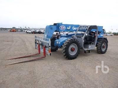 2014 GENIE GTH844D 8000 Lb 4x4x4 Telescopic Forklift
