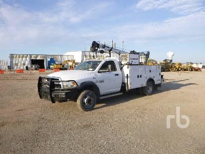 2015 RAM 5500 4x4 Mechanics Truck