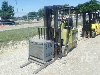 CLARK ECS20 4000 Lb Electric Forklift