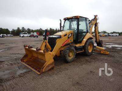 2014 CATERPILLAR 416F 4x4 Loader Backhoe