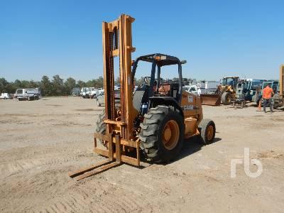 2008 CASE 586G Rough Terrain Forklift