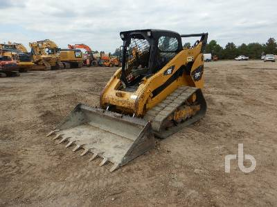 2012 CATERPILLAR 289C2 2 Spd Compact Track Loader