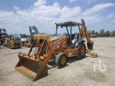 2007 CASE 580M Series 2 Loader Backhoe