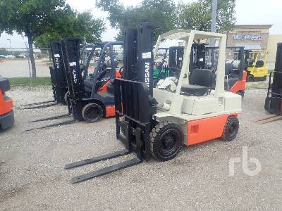 NISSAN PH02 5000 Lb Forklift