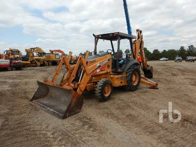 2005 CASE 580M 4x4 Loader Backhoe