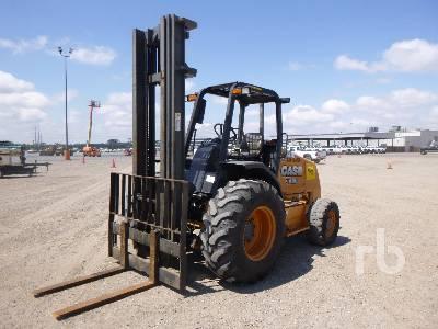 2016 CASE 588H 6000 Lb 4x4 Rough Terrain Forklift