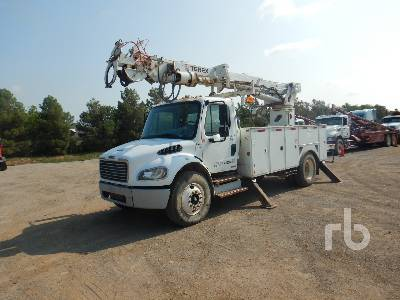 2007 FREIGHTLINER M2 Business Class S/A w/Telelect Comma Digger Derrick Truck