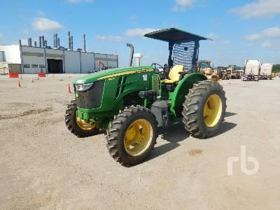 2016 JOHN DEERE 5100E 4WD Utility Tractor