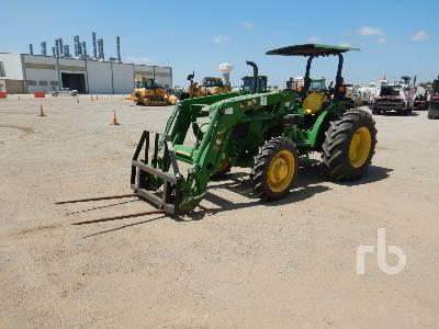2017 JOHN DEERE 5065E MFWD Tractor