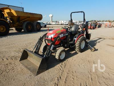 YANMAR SA424 4WD Utility Tractor